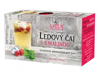 Grešík Ledový čaj s malinou 20 x 1,5 g
