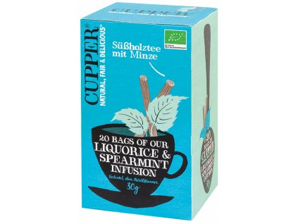 Cupper PROMO Liquorice & Spearmint Organic Tea
