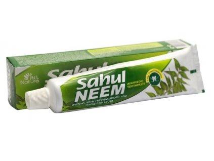 Zubní pasta neemová Ayusri (dříve SAHUL), 100 g
