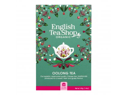 Čaj Oolong 20 sáčků BIO ENGLISH TEA SHOP