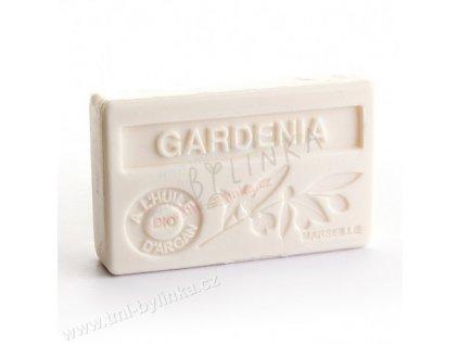 Mýdlo s bio arganovým olejem - Gardenia (Gardénie) 100g F184