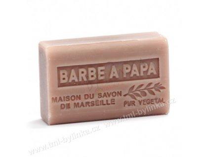 Mýdlo z bambuckého másla - Barbe a papa (Cukrová vata) 125g F211