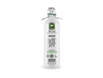 "White Agafia: Kopřivový kondicionér na vlasy ""Jemnost a lesk"" 280ml K1334"