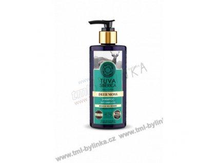 """TUVA SIBERICA: Šampon proti vypadávání vlasů """"Jelení mech"""" 300ml K263"""