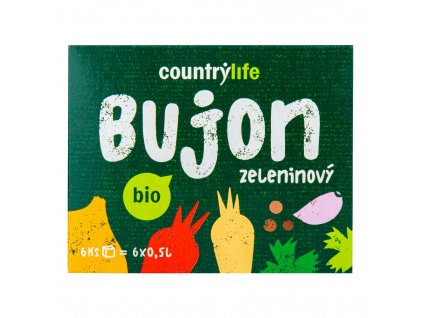Bujon zeleninový kostky 66g BIO COUNTRY LIFE