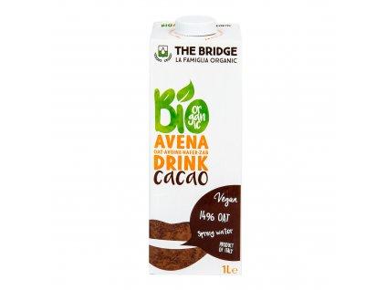 Nápoj ovesný kakao 1 l BIO THE BRIDGE