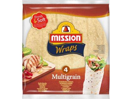 Mission Mission 4 Wraps Multigrain