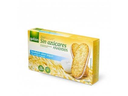 Sušenky Sandwich s jogurtovou příchuti