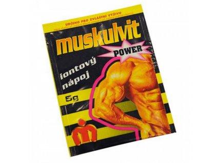 Muskulvit Iontový nápoj pomeranč 5 g
