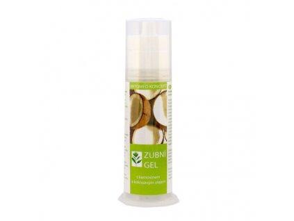 Zubní gel s karnosinem a kokosovým olejem, 75 ml, Alystra