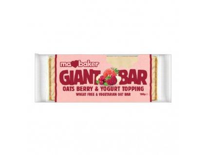 Giant Bar jogurt, lesní ovoce 110g Ma Baker