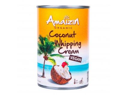 Kokosová alternativa smetany ke šlehání 30% tuku 400ml BIO AMAIZIN
