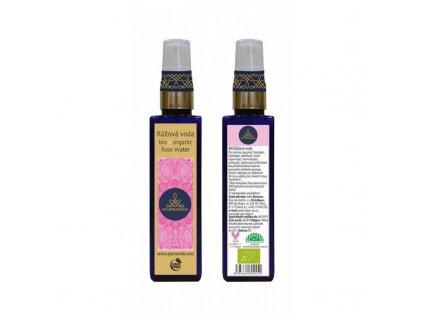 AYURSAVEDA BIO Růžová voda - kosmetická, 100 ml