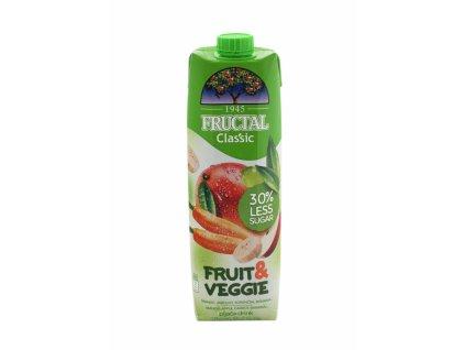 FRUCTAL Fructal fruit & veggie mango, mrkev 1l