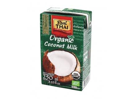ND IMPEX, spol. s r.o. Kokosové mléko BIO 250ml Real Thai (zelené)
