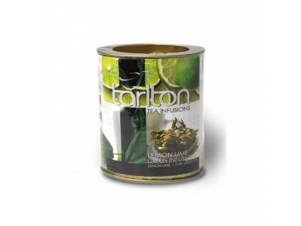 Tarlton Tarlton zelený čaj LEMON-LIME 100g