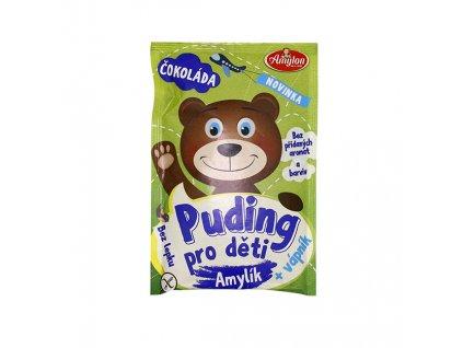 Amylon, a.s. Puding čokoládový pro děti BZL 40g Amylon