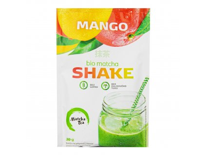 Matcha shake mango bezlepkový 30 g BIO MATCHA TEA