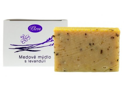 Mýdlo medové s levandulí