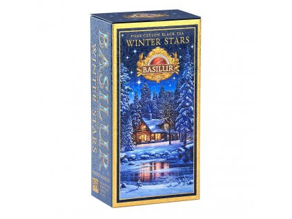 Basilur Basilur INFINITE Winter stars černý čaj 75g