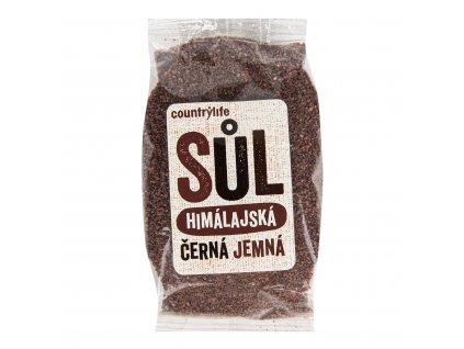 Sůl himálajská černá jemná 250 g COUNTRY LIFE