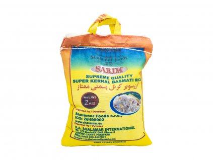 Shalamar Foods Rýže Basmati, 2 kg
