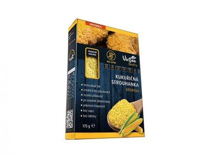 Bezlepková kukuřičná strouhanka křupavá 175 g
