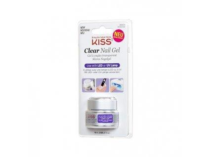 UV/LED gel na nehty průhledný (Clear Nail Gel) 15 ml