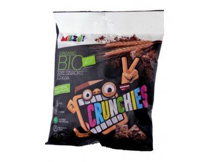 BIO Křupavý snack - obdélníčky s kakaem 70 g