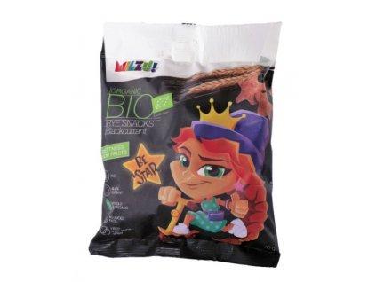 BIO Křupavý snack - hvězdičky s černým rybízem 70 g