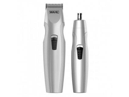 Sada pro muže - Bateriový zastřihovač vousů + Zastřihovač nosních a ušních chloupků 5606-308