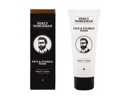 Čisticí gel na obličej a vousy (Face & Stubble Wash) 75 ml