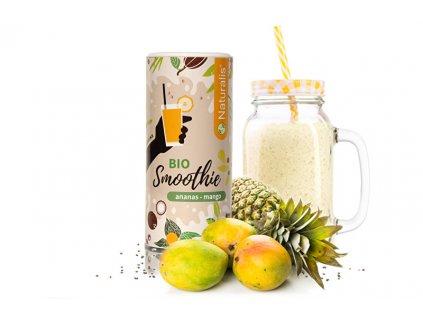 Smoothie Ananas + Mango BIO 180 g