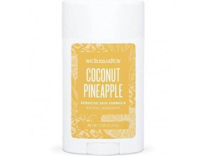 Deodorant v tyčince pro citlivou pokožku Sensitive Coconut Pineapple (Deo Stick) 58 ml