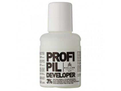 Aktivační emulze pro barvu na obočí a řasy Profipil (Developer 3%) 60 ml
