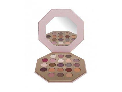 Paletka 21 očních stínů (Eyeshadow Palette)