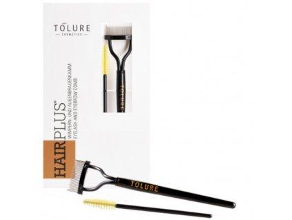 Hřebínek s kartáčkem na řasy Eyelash & Eyebrow Comb Set