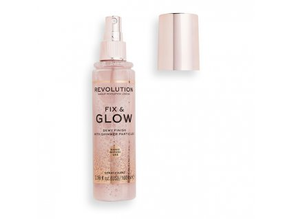 Fixační sprej na makeup Fix & Glow 100 ml