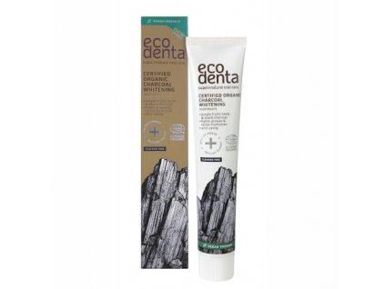 Organická černá zubní bělicí pasta Jungle Fruits (Charocal Whitening Toothpaste) 75 ml