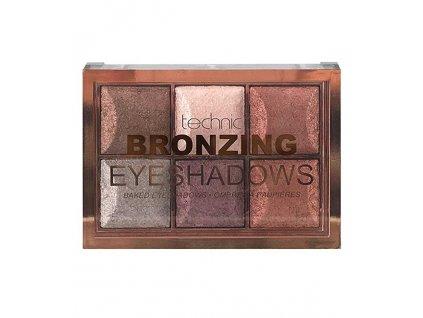 Paletka očních stínů Bronzing Eyeshadows