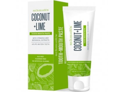 Zubní pasta Coconut & Lime (Tooth + Mouth Paste) 133 g
