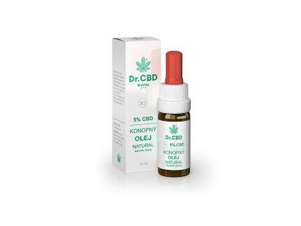 Dr. CBD Konopný olej NATURAL 10 ml