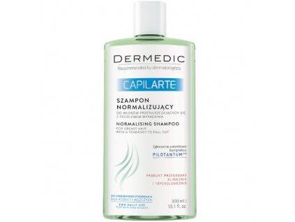 Normalizující šampon pro mastné vlasy proti jejich vypadávání Capilarte 300 ml