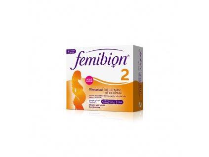 Femibion 2 Těhotenství 28 tablet + 28 tobolek