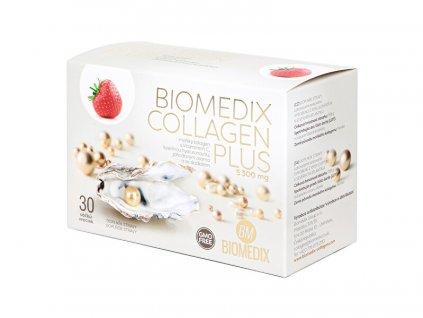 Biomedix Collagen Plus Jahoda 30 sáčků