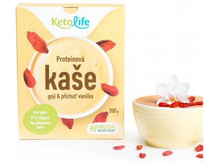 Proteinová kaše - Goji a příchuť vanilka 5 x 40 g