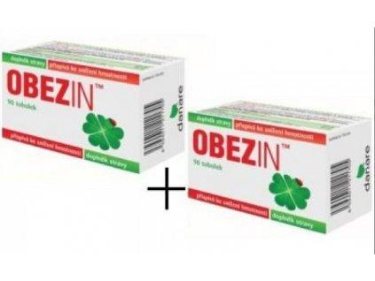 OBEZIN® měsíční hubnoucí kůra 2 x 90 tobolek
