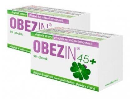 OBEZIN® 45+ měsíční hubnoucí kůra 2 x 90 tobolek