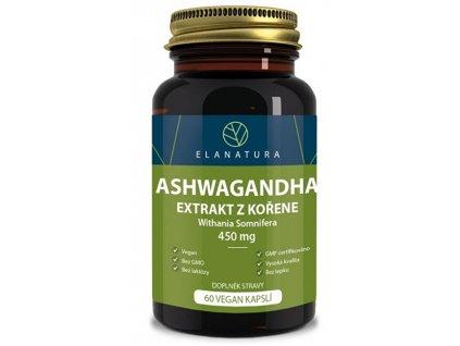 Aswagandha extrakt 60 kapslí