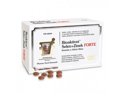 Bioaktivní Selen+Zinek FORTE 150 tablet